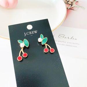 J. Crew Cherry Multiway Stud Earrings